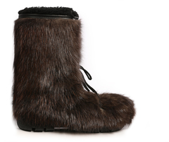 Botte Blizzard - Fourrure de Castor Naturel